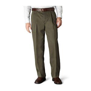 Dockers Wool Blend Pleated Relaxed Fit Dress Pants